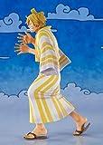 Bandai Tamashii Nations One Piece Figuarts, ZERO PVC Statua Sanji (Sangoro), Multicolore, 14 cm