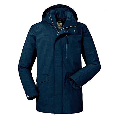 Schöffel Herren Insulated Parka Monterey2 Jacke, Night Blue, 58