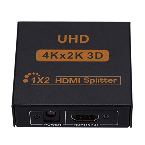 Jacobden 3D 4K * 2K Full HD 1080p 1X4 HDMI Splitter Adapter 4 Ports Hub Repeater Verstärker Konverter für HDTV Adapter
