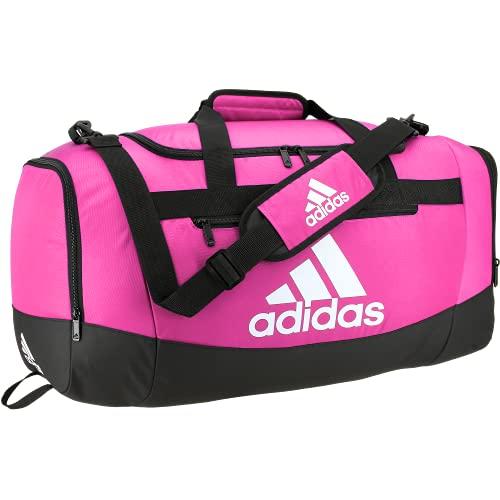 adidas Defender 4 Medium Duffel Bag, Bolsa Unisex, Team Shock Rosa, Talla única