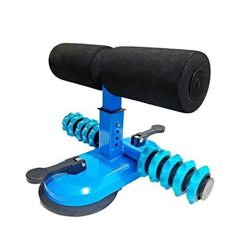 DRAKE18 Selbstabsorbierende Sit-Ups-Leiste Sit-Up Assistant-Gerät mit 2 Saugnäpfen Massagerolle Höhenverstellbar Taille Bauch Kernübung für Home Bodybuilding
