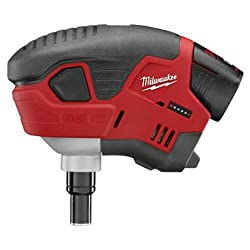 """commercial Milwaukee Electric Tool 2458-21, 1-3-1 / 2 Cordless Mail System Kit"""" m12 brad nailer"""