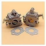 2 unids/lote Carburetor Carb Junta de Carb para S-TiHL MS170 MS180 MS 170 180 017 018 para z-ama C1q-S57B Motor de motosierra Partes del motor