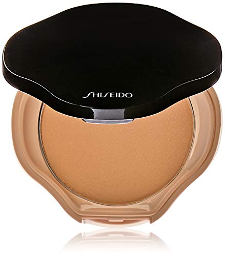 Shiseido Sheer and Perfect Compact Puder Make-up, I40 Natural Fair Ivory, 10g