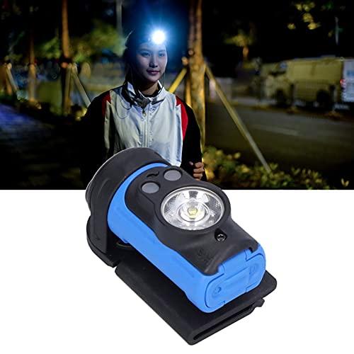 01 Luz de Cabeza LED, Faro Ajustable graduable de 360 ° para Correr para Acampar para Andar en Bicicleta para Caminar