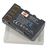 DSTE® 2pcs BN-VF808 Replacement Li-ion Battery + Charger DC36U for JVC GZ-MG130, GZ-MG131, GZ-MG132, GZ-MG133, GZ-MG134, GZ-MG135, GZ-MG148, GZ-MG150, GZ-MG155, GZ-MG175, GZ-MG177, GZ-MG255, GZ-MG275, GZ-MG575, GZ-HD7, GR-D720, GR-D725, GR-D726, GR-D728, GR-D740, GR-D745, GR-D746, GR-D750, GR-D760, GR-D770, GR-D771, GR-D775, GR-D790, GR-D796