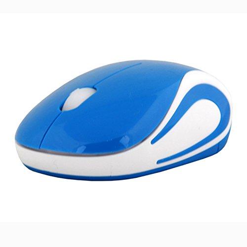 Funkmaus Drahtlose Maus 2.4G drahtlose Gaming-Maus Wireless Touch Mouse USB Wireless Schnurlos Optisch Mini Laptop Notebook Maus Mäuse BU