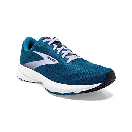 Brooks Womens Launch 7 Running Shoe - Peacoat/Blue/Purple - B - 11