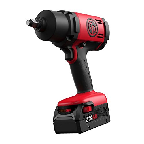 "Chicago Pneumatic CP8848K 1/2"" Cordless Impact Wrench Kit, Red/Black -  Chicago Pneumatic Tool Company"