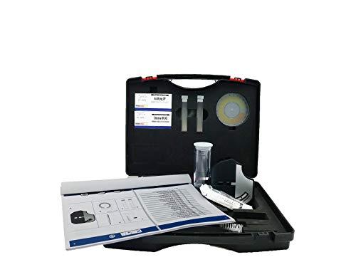 YMBERSA Test maletín Disco colorímetro Hipoclorito Sódico Rango medición 2-18%