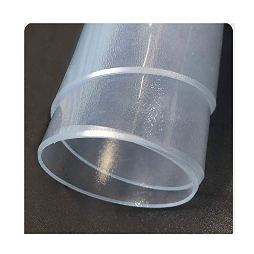 Protector Mesa Estera De Mesa De Tpu Mesa De Comedor De Vidrio Suave Estera De Protección 1,5 Mm Mantel De Té Hule Transparente Placa De Cristal Pad ( Color : 1.5mm(Transparent) , Size : 70*70cm )