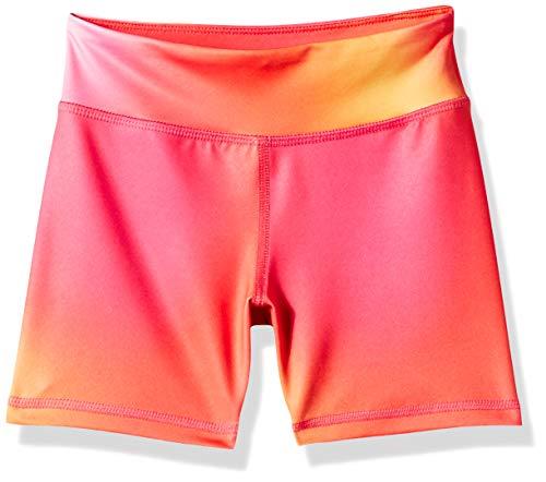 Amazon Essentials - Pantalones cortos deportivos elásticos para niña, Rosa Degradado, US M (EU 128 CM)