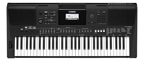 Yamaha PSR-E463 RML Keyboard, schwarz – Tragbares Digital Keyboard für Anfänger – 61 Tasten & verschiedene Musikstile – Mit Voucher für 1 persönliche Remote Lesson an der Yamaha Music School