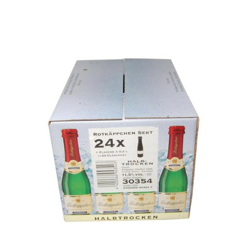 Rotkäppchen Sekt Halbtrocken - 24 x 200 ml
