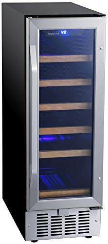 EdgeStar CWR182SZ 12 Inch Wide 18 Bottle Built-In Wine Cooler