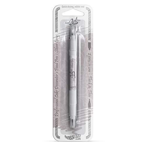 Rainbow Dust Food Pen - Silver