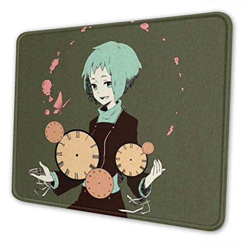 Fuuka Yamagishi Persona Mouse Pad Anti Slip Gaming Mouse Pad with Stitched Edge Computer PC Mousepad Neoprene Base for Office Home