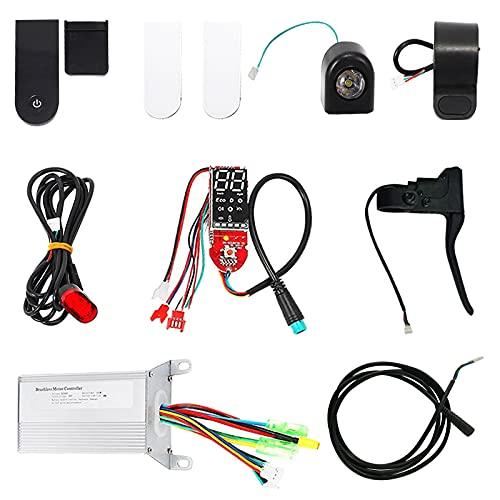 Siebwin Controlador de Velocidad del Motor del Cepillo de 36V 350W Compatible con Xiaomi M365 Scooter eléctrico Controlador de Scooter eléctrico MCU de 32 bits de Alto Rendimiento Duradero