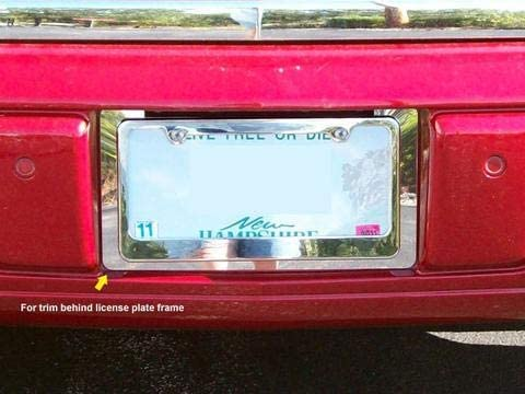 STAINLESS LICENSE Cheap SALE Start PLATE BEZEL 1PC Ranking TOP6 2006-2011 DTS FITS LP46245