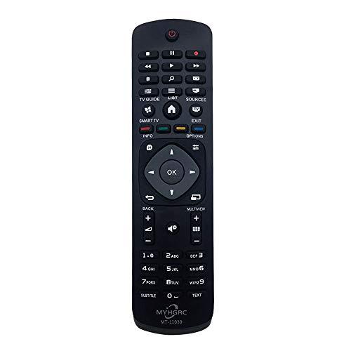 MYHGRC Nuevo Mando a Distancia Philips Universal TV para Mando Philips TV-No Se Requiere Configuración para Philips TV Mando a Distancia Universal