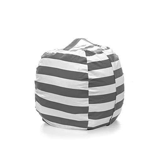 DAOLA Bean Bag Stuffed Animal Storage - Extra Large Size Bean Bag Chair For Kids Organization Animal Toys