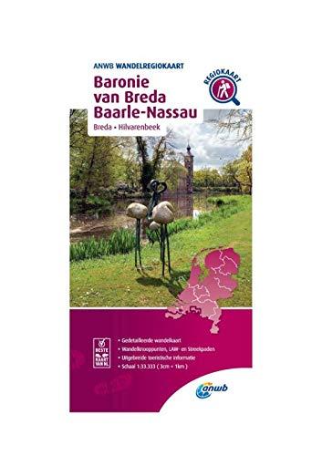 Wandelregiokaart Baronie van Breda, Baarle-Nassau 1:33.333: Breda, Hilvarenbeek