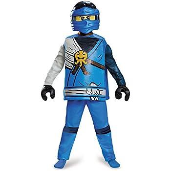 Lego Ninjago 98123K Ninjago - Disfraz de Jay de Ninjago (talla M ...