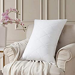 Goose Feather Medium Firm Bed Pillows Review
