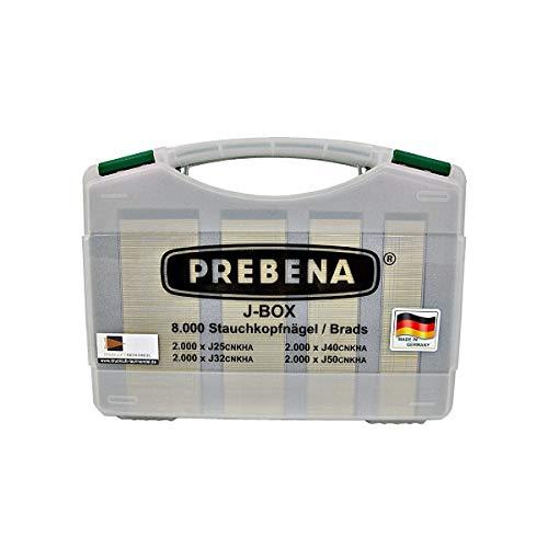 PREBENA BRADS-SORTIMENTSKOFFER J-Box