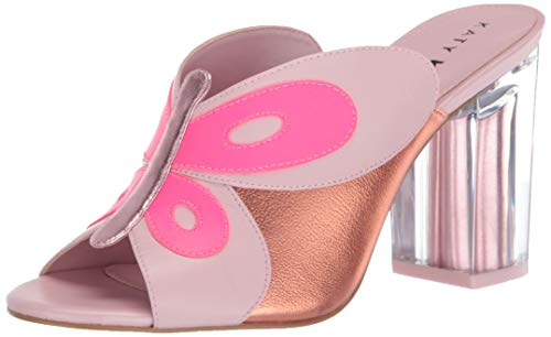 Katy Perry womens The Kirra Heeled Sandal Rose Quartz Multi 8 M