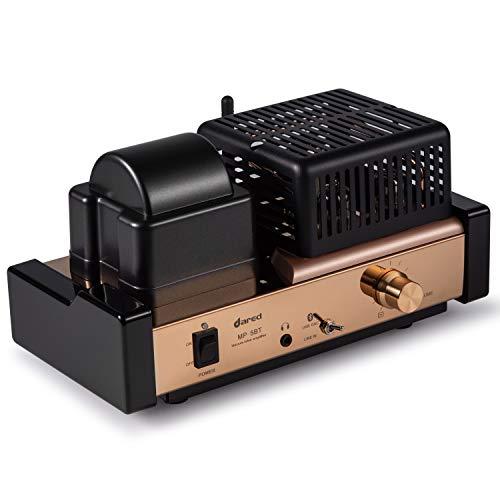 Dared MP-5BT Amplificador de tubo estéreo integrado amplificador, amplificador híbrido, conexión Bluetooth,...