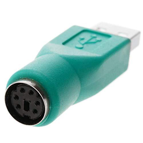 BeMatik - Adaptador PS2 a USB (USB A-M a MiniDIN6-H)