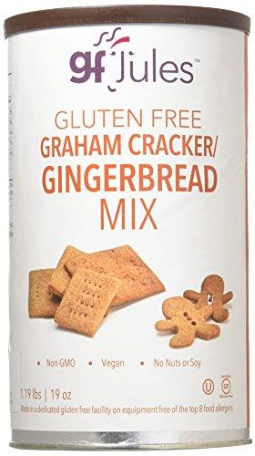 gfJules Gluten Free Graham Cracker – Gingerbread Mix 1.19 lbs, Pack of 1