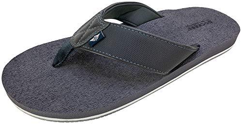 DOCKERS Men's Sandal Super Cushion Flip Flop, Size SM, Gray, Men's 7-8
