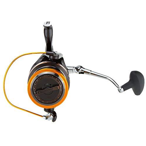 PLBB3K Carrete de Pesca De Metal de Giro del Carrete Rodamientos Pesca Carretes Grande estupendo mar Pesca Pescados Rueda Herramientas-Silver_8000 Series Carretes de Spinning