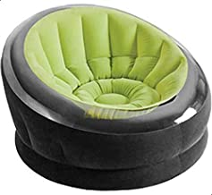 Intex 68582 Inflatable Empire Chair, Green/Black