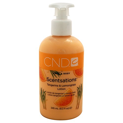 CND Hand- und Bodylotion Scentsations Mandarine und Lemongrass, 1er Pack (1 x 245 ml)