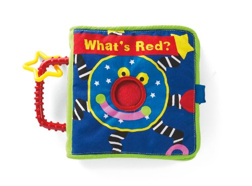 Manhattan Toy Whoozit - Livre What Is Red?