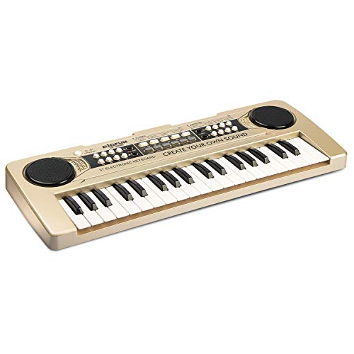 Best Bargain aPerfectLife 37 Keys Kids Piano Keyboard Portable Piano Electronic Keyboard Music Instr...