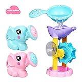 Currentiz 3 Stücke Baby Badespielzeug Elefant Sprinkler Strand Wasser Spielzeug Für Baby Pool Oder Badewanne