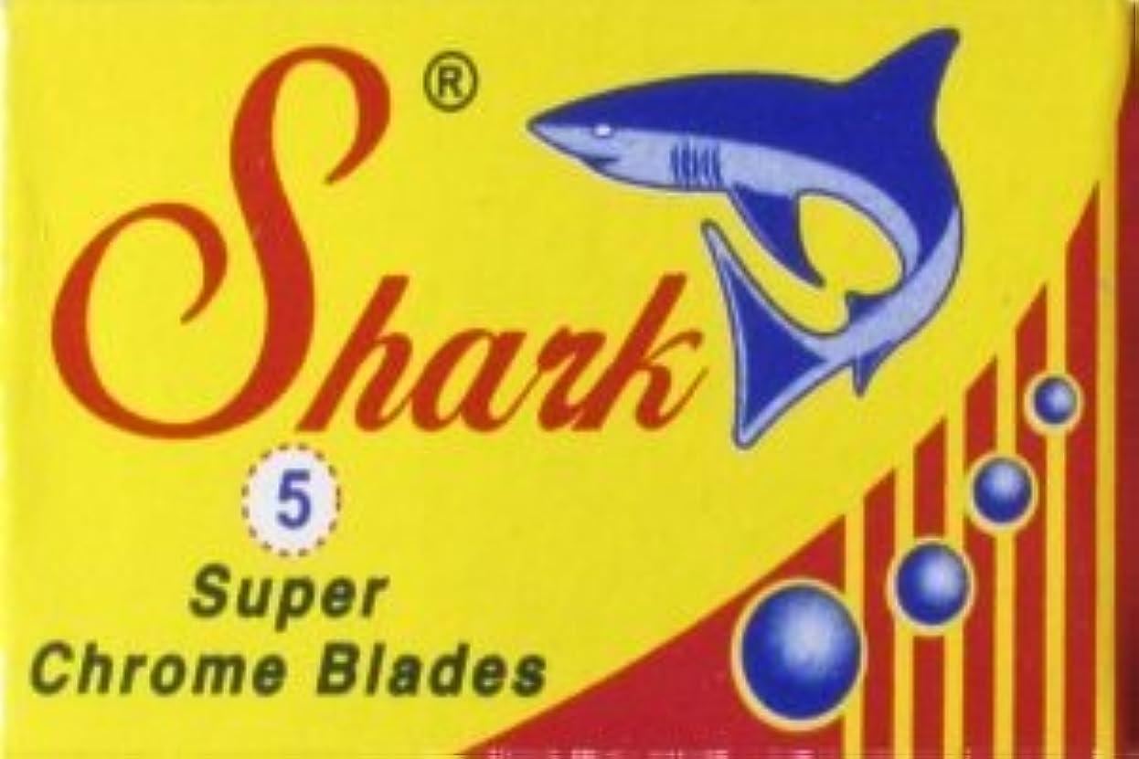 振る舞い友だちスリムShark Super Chrome 両刃替刃 5枚入り(5枚入り1 個セット)【並行輸入品】