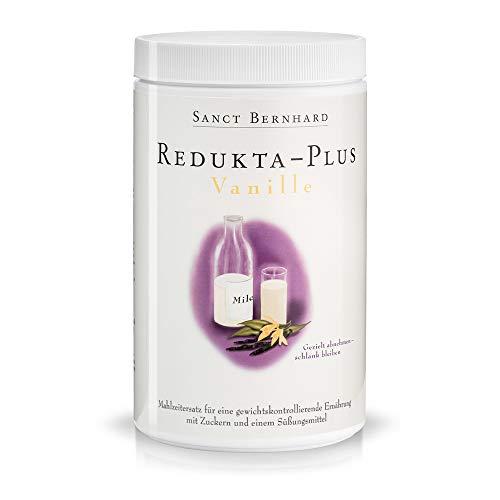 Redukta-PLUS Vanille Mahlzeitenersatz mit Vitaminen, Mineralstoffen, Spurenelementen, Inhalt 600 g Trinkpuler