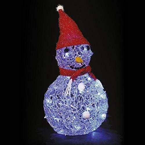 Féerie Lights et Christmas Bonhomme de Neige Lumineux Bleu