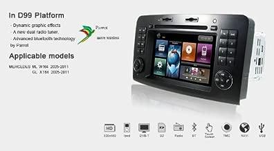 OttoNavi MB0511ML-DYMBMLNA Mercedes Benz 05-11 ML 300/320/420/450/W164 Multimedia in-Dash OEM Replacement Car Radio