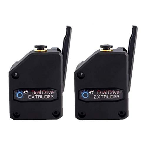 3D Printer Extruder Dual Drive BMG Cloned Bowden Accessories 1.75mm Filament Universal 2PCS Durable