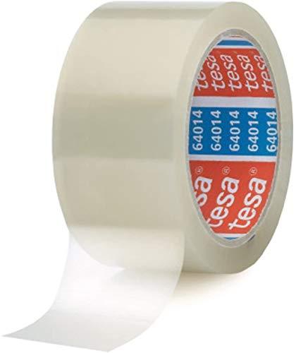 tesa Klebeband / Paketband, 66 m x 50 mm (Transparent, 12 Rollen)