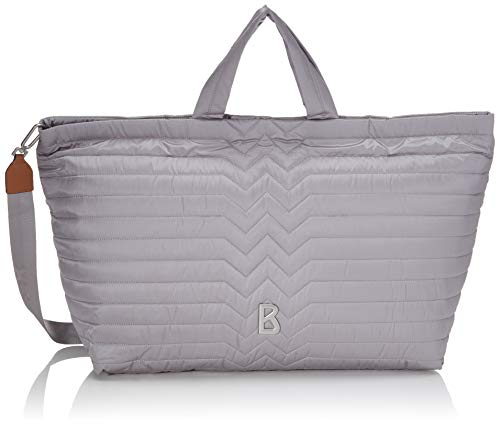 Bogner Damen jule travel bag, lightgrey, 50/60x35x24