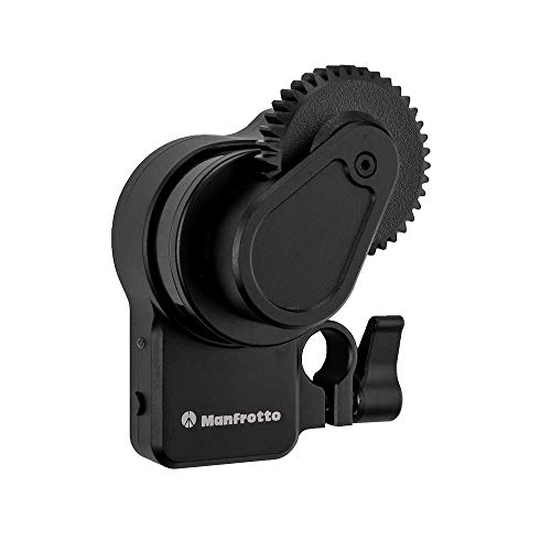 Manfrotto Follow Focus for Gimbals, for Portable 3-Axis Professional Gimbals for Mirrorless and Reflex Cameras, Perfect for Photographers, Vloggers and Bloggers