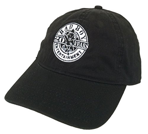 Bad Boy Ent. Records 20 Years Black Baseball Hat Puff Biggie