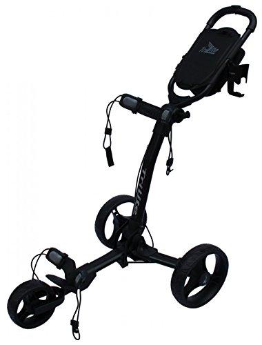 Carrito de Golf de 3 Ruedas - Axglo TriLite - Color Negro - Incluye Dos Accesorios GRATIS!